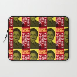 Hillary Clinton Is Scary Laptop Sleeve