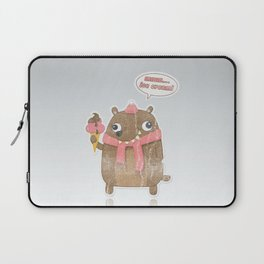 Icecream Bear Laptop Sleeve