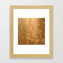 Copper Home Decor and Copper Art Framed Art Print