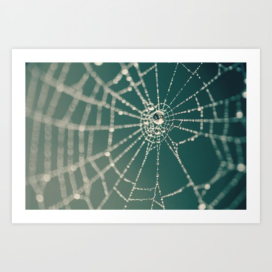 Spiderweb Art Print