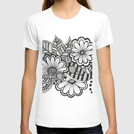 Floral with Leaves T-shirt