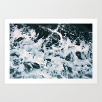 Choppy Water Art Print