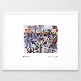"""Rolf Schröter, """"Wschschrrrrh"""" Framed Art Print"""