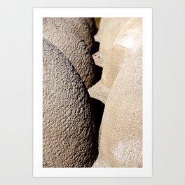 Formes en français Art Print