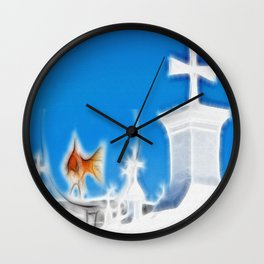 Inside The Glass Wall Clock