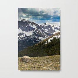"""Lure of the Mountain"" Metal Print"
