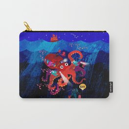 Octo-bus to happyland Carry-All Pouch