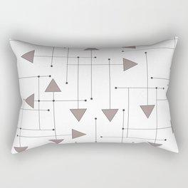 Lines & Arrows Rectangular Pillow