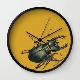 Scarabee au soleil! Wall Clock