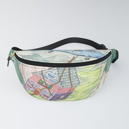 The House That Moved p.12 Fanny Pack