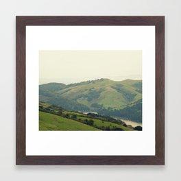 The Hills of Tilden Park Framed Art Print