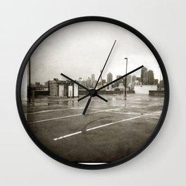 { rain dance } Wall Clock