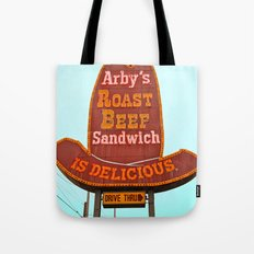 Classic Arby's sign Tote Bag