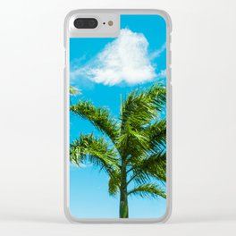 3 Palms Clear iPhone Case