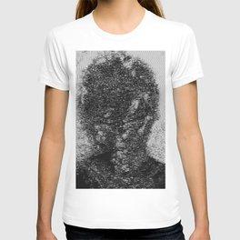 dark fm portrait T-shirt
