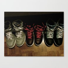 FRESH KICKS Canvas Print
