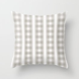 abstract pattern of lines intersecting each other in a square Throw Pillow