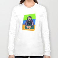 miles davis Long Sleeve T-shirts featuring Davis by Nope