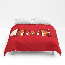 Poketryoshka - Fire Type Comforters