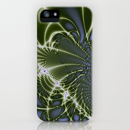 Fractal Abstract 68 iPhone Case