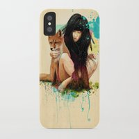 ariana grande iPhone & iPod Cases featuring Fox Love by Ariana Perez