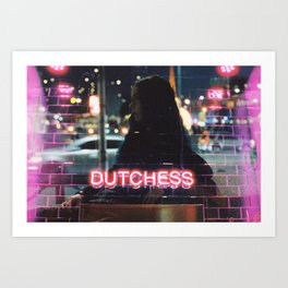 Dutchess Art Print