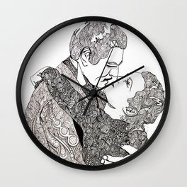 Gone With The Wind Elaboration Wall Clock