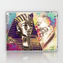 King Tut  Mask Abstract composition Laptop & iPad Skin