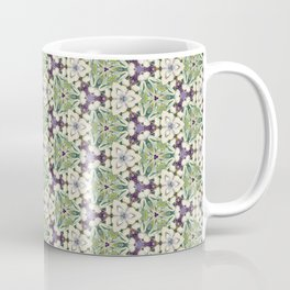 Triaxial Tessellated Turnips w/Purple smallscale Coffee Mug