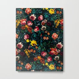 Night Garden XXX Metal Print