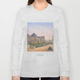 Les tuileries Paris France Long Sleeve T-shirt