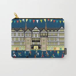 Art Print of Liberty of London Store - Night time Carry-All Pouch