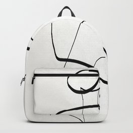Abstract line art 6 Backpack