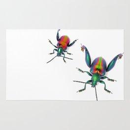 Frog-legged Pair Rug