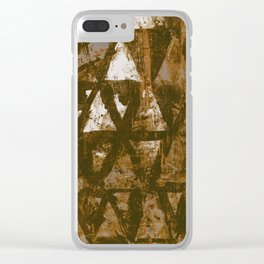 Siding III Clear iPhone Case