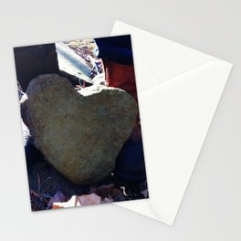 Natural Heart Stationery Cards