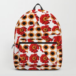 Abstract shapes with flower patterns Backpack