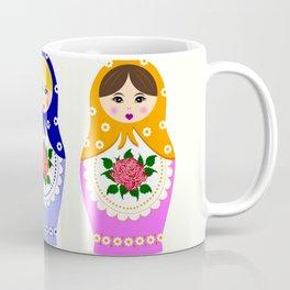 Russian matryoshka nesting dolls Coffee Mug