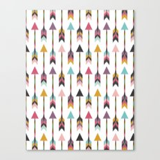Bohemian Arrows-Pattern Canvas Print