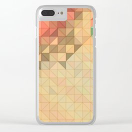 Coral Reef Abstract Clear iPhone Case