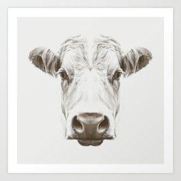 Cow Sym Art Print