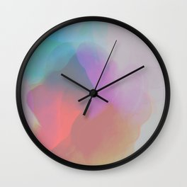watercolor paint Wall Clock