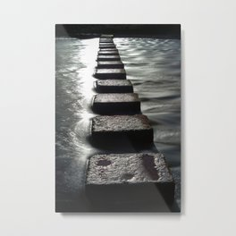 Stepping stones Metal Print