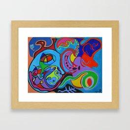 Chariot Framed Art Print