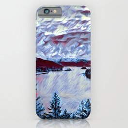 A Cloudy Day in the Bay iPhone Case