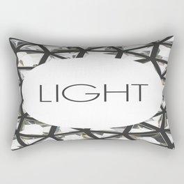 Let Light In Rectangular Pillow