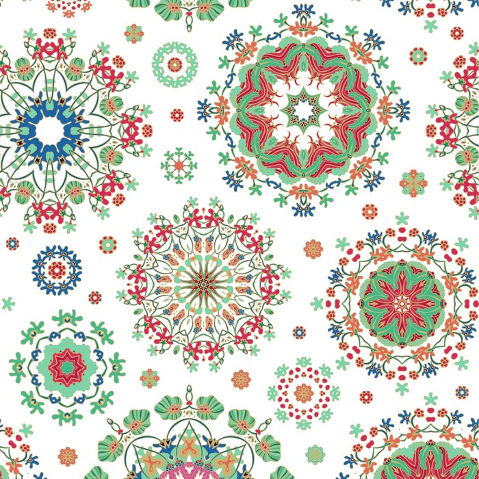 Colorful snowflakes Comforters