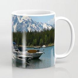 Pleasure Crafts on Jackson Lake Coffee Mug