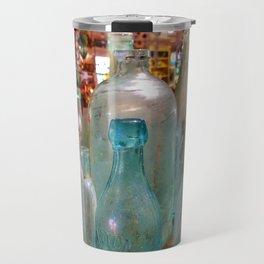 Glass Bottles Travel Mug