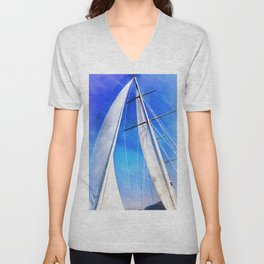 Sailing Unties The Knots Of My Mind Unisex V-Neck